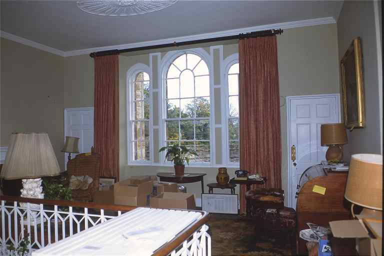 Robert adam designs in the castle style seton castle for Sitting window design