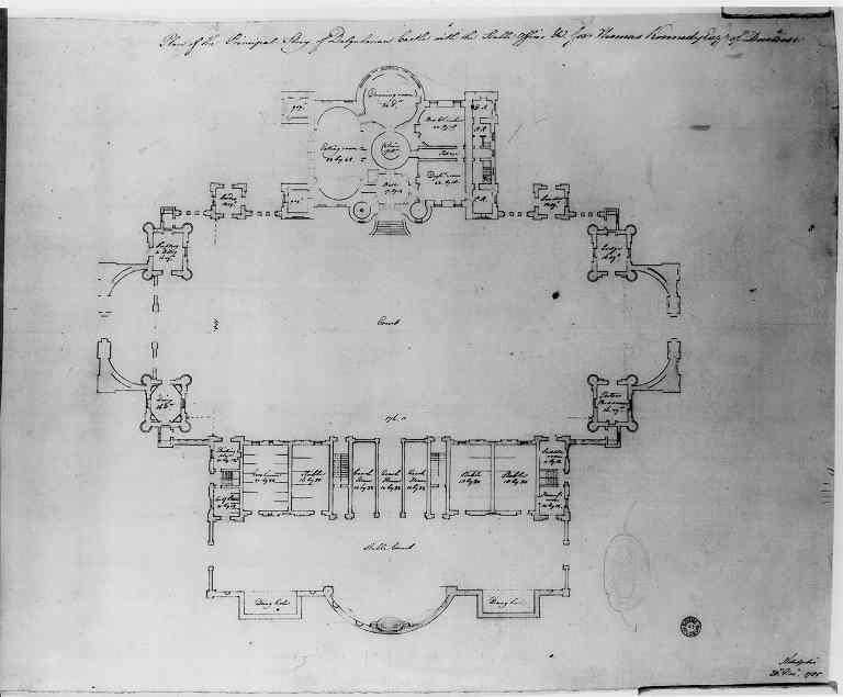 Robert Adam Designs In The Castle Style Dalquharran
